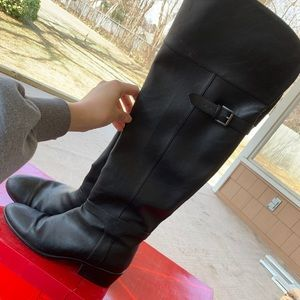 Size 10.5 Aerosoles Over the Knee Boots